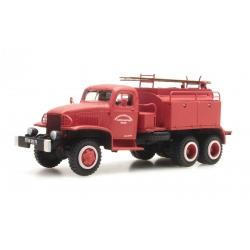 """GMC Cabine tolée """"ROUEN"""" - Camion citerne pour feux de forêt"""