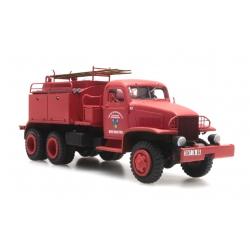 """GMC Cabine tolée """"ALPES-MARITIMES"""" - Camion citerne pour feux de forêt"""