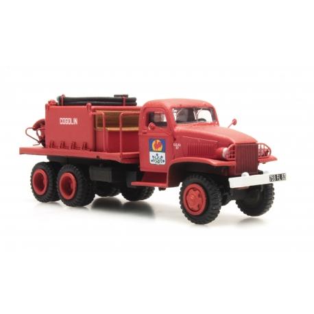 """GMC Cabine tolée """"COGOLIN"""" - Camion citerne pour feux de forêt"""