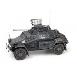 Automitrailleuse Allemande Sdkfz 222, canon de 20mm, gris