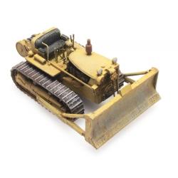 Bulldozer D7 Jaune