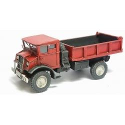 Camion Chevrolet 3T rouge à ridelles