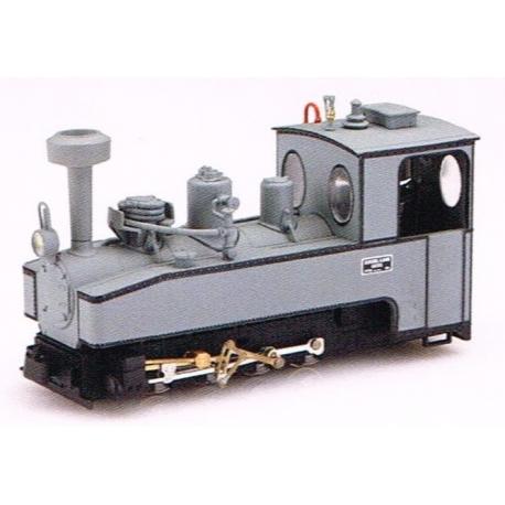 1022 - Locomotive de brigade 040T grise plaque Henschel