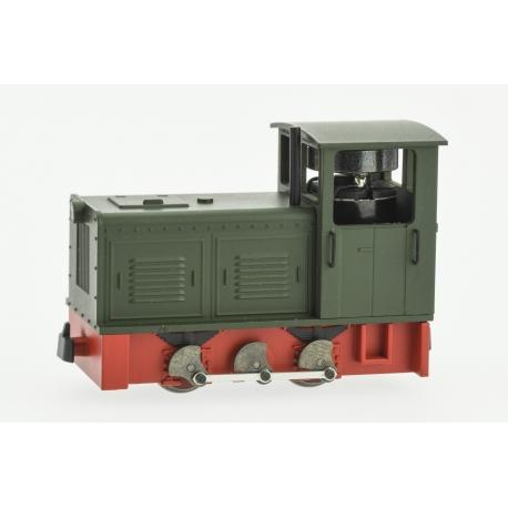 2021 - Locotracteur Diesel Ns2f à bielles Vert, châssis rouge