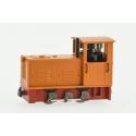 2024 - Locotracteur Diesel Ns2f à bielles Orange, châssis rouge