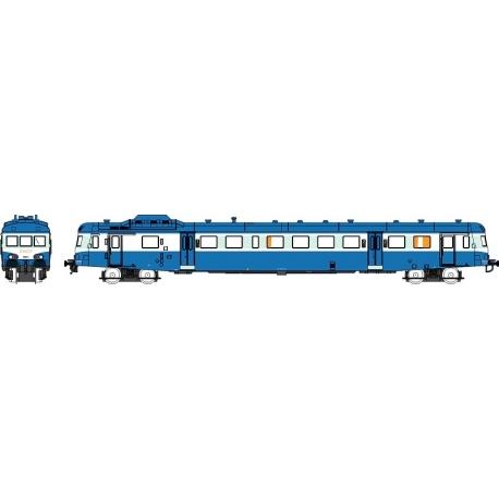 """NW037 - X2891 Bleu Logo """"SNCF"""" Dépôt de TOULOUSE Ep.V Analogique"""