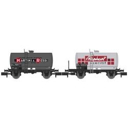 NW045 - SET de 2 Wagons Citernes Soudée OCEM 29 Ep.IV