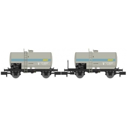 NW047 - SET de 2 Wagons Citernes Soudée OCEM 29 Ep.IV-V