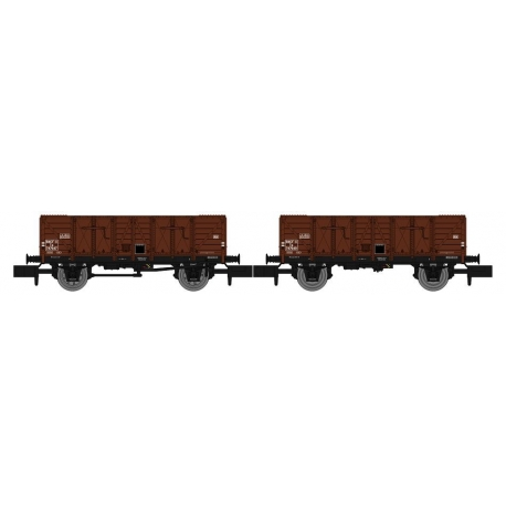 NW048 - Set de 2 Wagons TOMBEREAU OCEM 29 Ep.III
