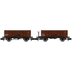 NW049 - Set de 2 Wagons TOMBEREAU OCEM 29 Ep.III