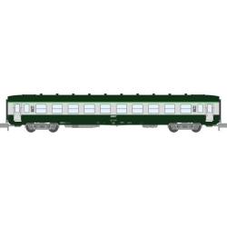 NW061 - VOITURE DEV AO Courte Ep.IV-V Vert - Gris béton Cartouche Corail