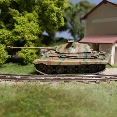 Tiger II (Porsche), Zimmerit, Camo