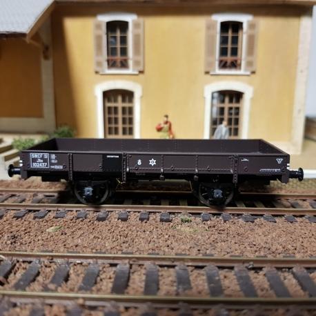 Wagon PLAT OCEM 19 Brun Ep.III