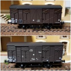 Set de 2 Wagons COUVERT OCEM 19 Ep.III B