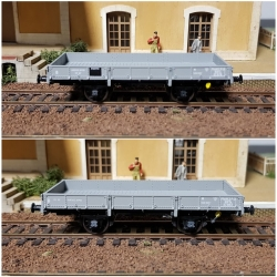 Set de 2 Wagons PLAT OCEM 19 Ep.II – PO