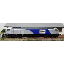 VOSSLOH E4000 - E4004 EUROPORTE - DC analogique - Échelle N