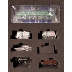 CC 7144 Analogique + 4 Wagons marchandises Ep.III
