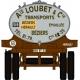 """CB071 - Camion Willème Citerne à vin + remorque """"Loubet & Cie"""""""