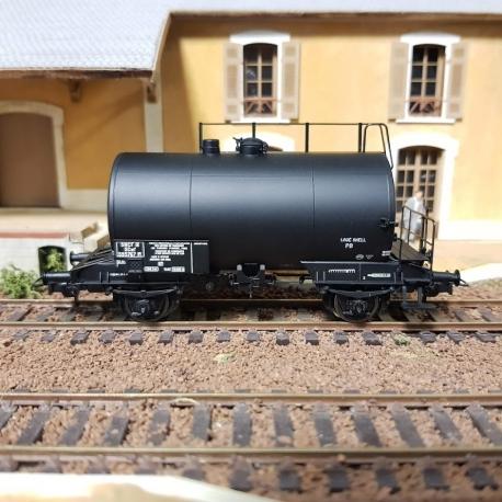 """WBE003 - Citerne 2 essieux ex-DR SNCF """"loué SHELL"""""""