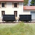 Set de 2 wagonnets de mine
