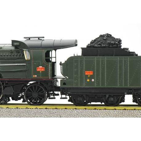 Vapeur 3-231 G 117 SNCF TOURS, Ep.III, DCC sonore sans fumée