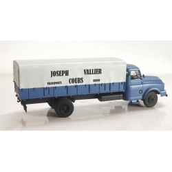 "CB102 - Camion Willeme Bâché ""Joseph Vallier – Transport Cours"""