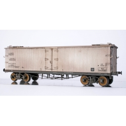 WB534 P - Wagon TP FRIGO Origine à Trappes à glace PO Ep.II PATINE