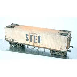 WB536 P - Wagon TP FRIGO Origine à Trappes à glace SNCF Ep.III PATINE