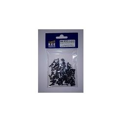 Attelages Courts Magnétiques Norme NEM 362 - Sans fils 10 pièces Longueur L : Norme + 0.6mm