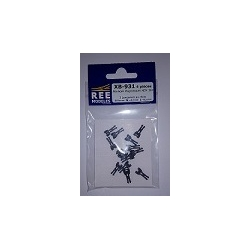 XB931 - Attelage AIMANT NEM362 3 Tailles Long/Moyen/Court L/M/S (x 4)
