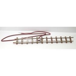 Rail droit de connexion, longueur 154 mm