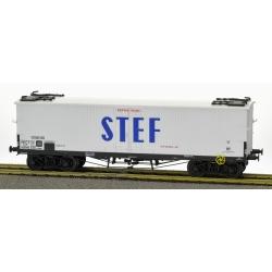 Wagon TP FRIGO Origine à Trappes à glace SNCF Ep.III