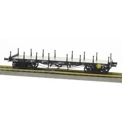 Wagon PLAT TP ranchers courts Ep.III B SNCF Qrywv 177835