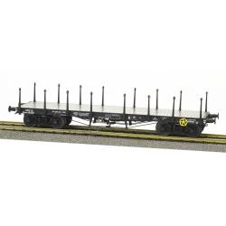 Wagon PLAT TP ranchers longs Ep.III B SNCF Qrywv 181256