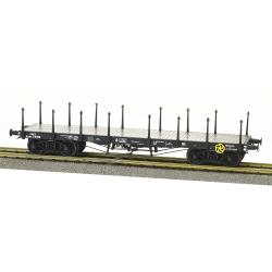 Wagon PLAT TP ranchers longs Ep.III B SNCF Qrywv 178096