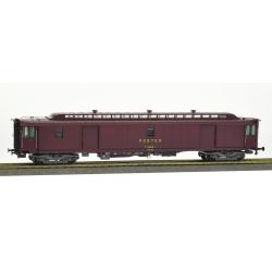 ALLEGE brun PTT, châssis gris bogie Y24, soufflet, PEz N°50 87 00-77 583-8 Ep.IV