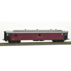 POSTALE OCEM 21,6 m Ep.III A- PAmyi rouge foncé, toit gris clair, échelle, Bogie Y2 N°45621 SNCF