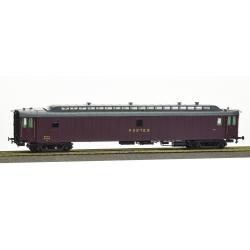 POSTALE OCEM 21,6 m Ep.III - PAz brun PTT, toit gris, châssis noir, Bogie Y2 N°47519 SNCF