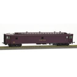 POSTALE OCEM 21,6 m Ep.III - PAz brun PTT, châssis noir, Bogie Y2 N°45562 SNCF