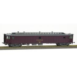 POSTALE OCEM 21,6 m Ep.IV - PAz brun PTT, châssis gris, Bogie Y2 N°50 87 00 37 127-3 SNCF