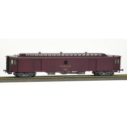 ALLEGE brun PTT, châssis gris bogie Y24, soufflet, PEz N°50 87 00-47 516-5 Ep.IV