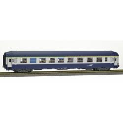 UIC Couchette A4C4B5C5 Bleu - Gris Argent 806 - Logo Nouille Ep.V TOIT HAUT (Nouveau numéro)