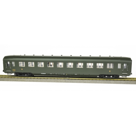 SET 3 DEV AO U46 (B10 + 2 A21/2B6) Vert 306, châssis noir, jupes Ep.IIIB