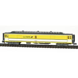 Voiture POSTALE OCEM 21,6 m Allège PEZ jaune bande blanche Ep.IV-V