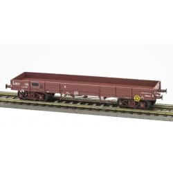 PLAT TP SNCF N° 20 87 388 5 718-3, 3 roues pleines, 1 roue à rayons Ep.IV NOUV. NUMERO