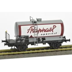 """Wagon Citerne OCEM 29 Ep.IV SNCF """"ST RAPHAEL"""" avec plateforme"""