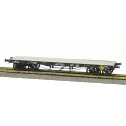 "Wagon PLAT TP sans freins, 4 roues à rayons Ep.III B SNCF ""MT"" SQy 967369"