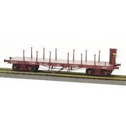 Wagon PLAT TP ranchers hauts avec Guérite Ep.IV SNCF 30 87-972 1 482-9