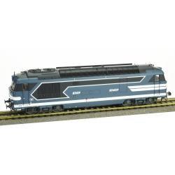 BB 67417, Dépôt de BORDEAUX, Logo nouille Ep.V - DCC SOUND 3 Rails AC