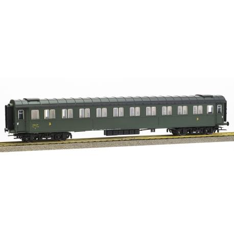 VOITURE Ex-FS SNCF C10 N°11979 Ep.III
